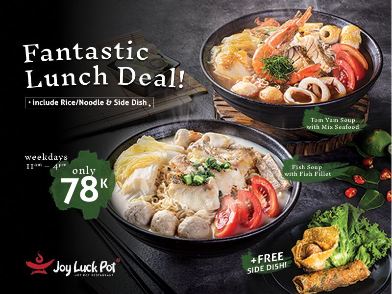 FANTASTIC LUNCH DEAL ONLY IDR 78K image