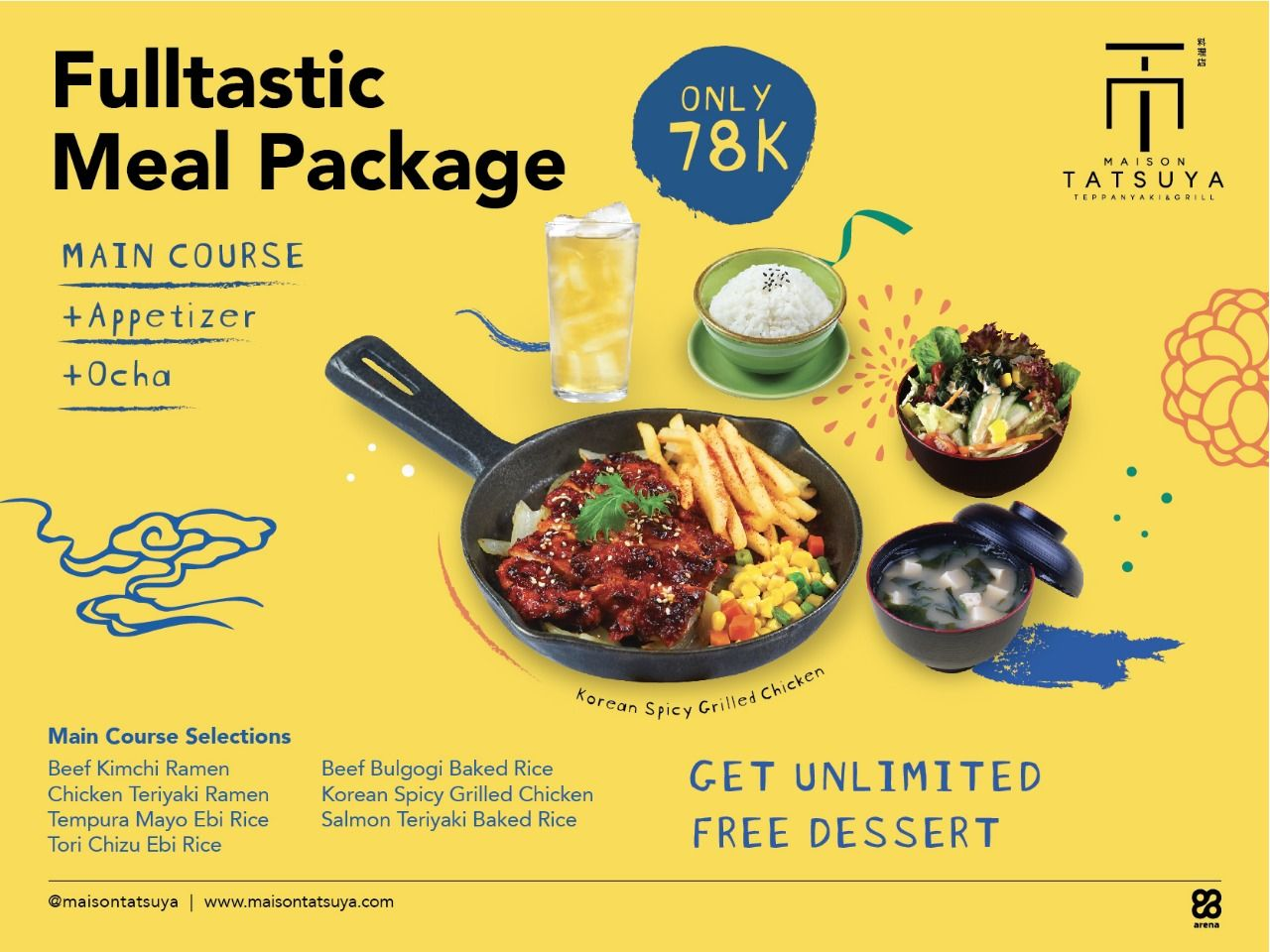 FULLTASTIC MEAL PACKAGE ONLY RP 78K image