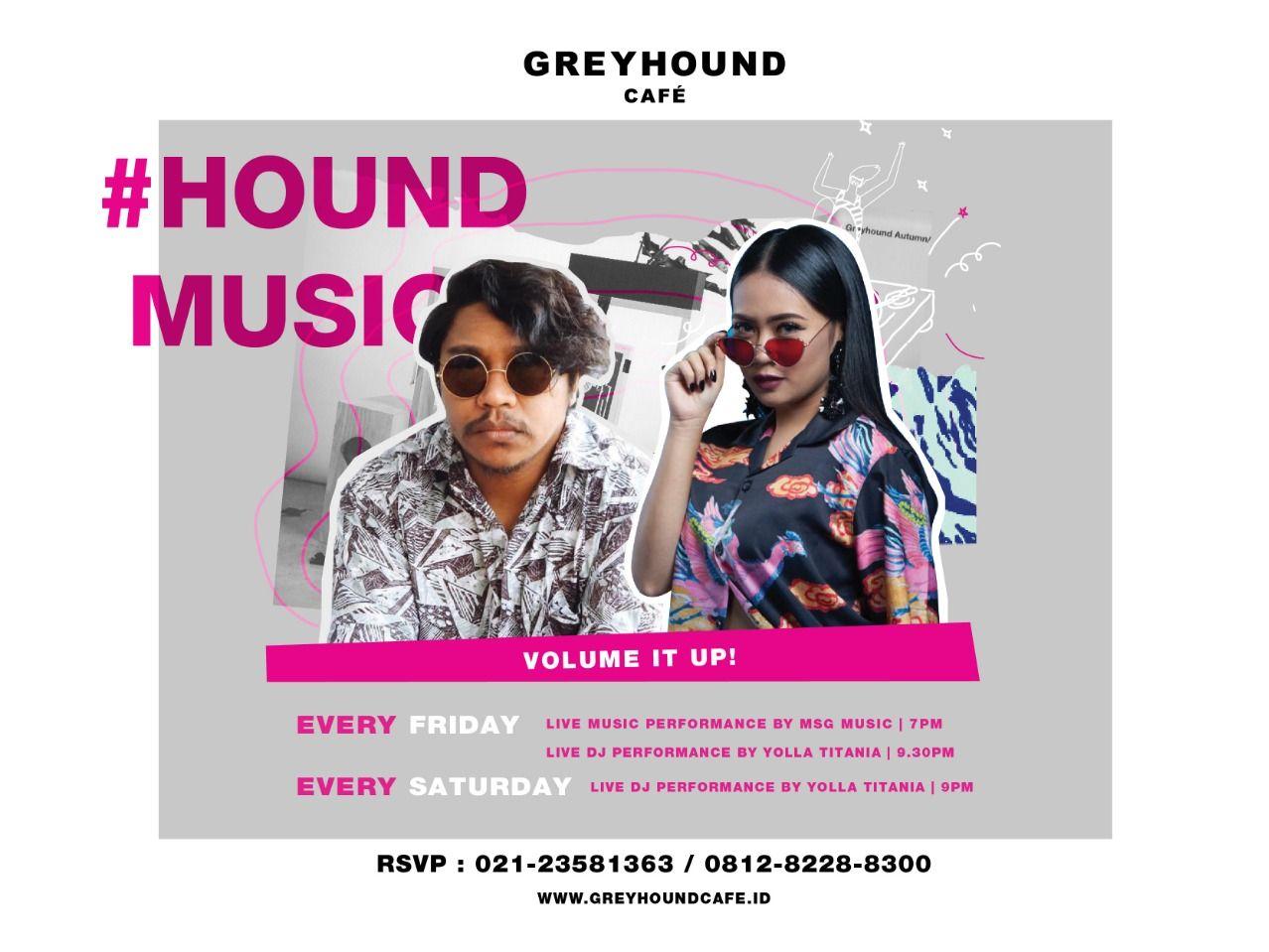 HOUND MUSIC EVERY FRIDAY AND SATURDAY image