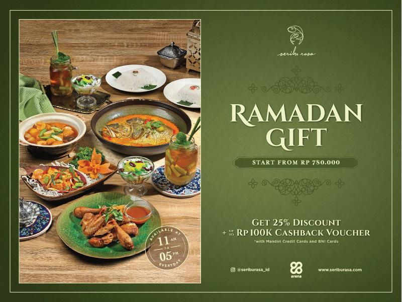 SHARE YOUR LOVE TO YOUR CLOSEST WITH SERIBU RASA RAMADAN GIFT image