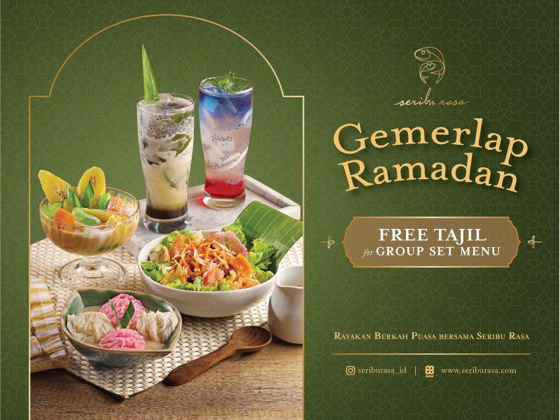 GEMERLAP RAMADAN - FREE TAKJIL FOR GROUP SET MENU image
