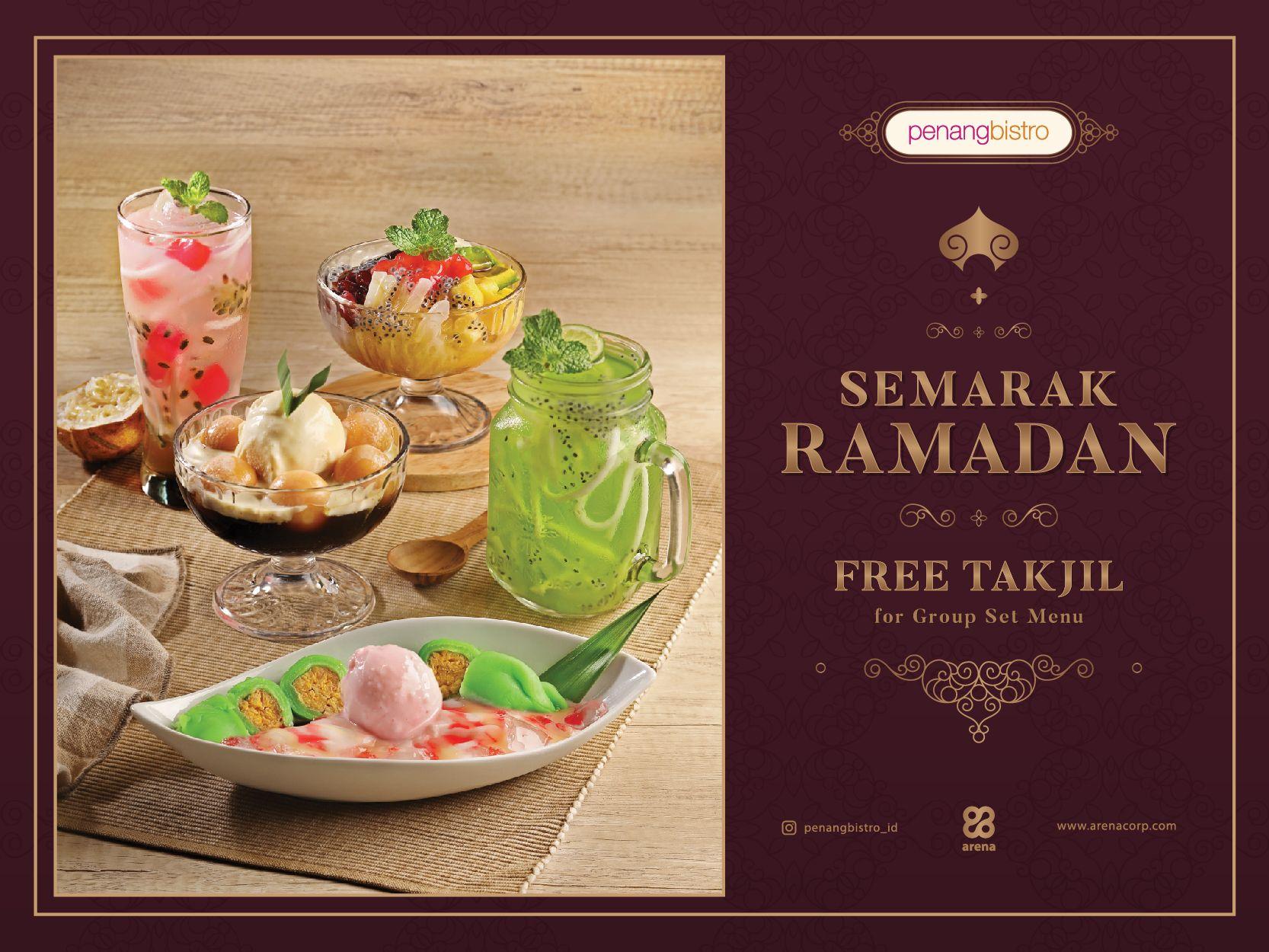 SEMARAK RAMADAN - FREE TAKJIL FOR GROUP SET MENU image