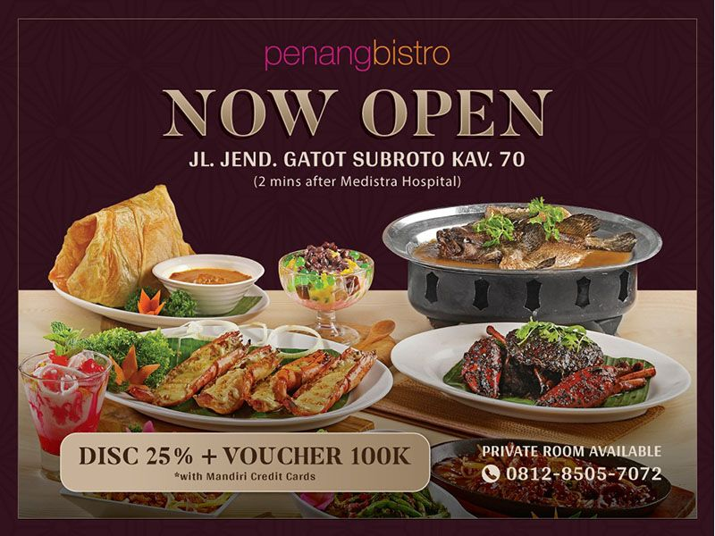 NOW OPEN - PENANG BISTRO AT JALAN JEND. GATOT SUBROTO image