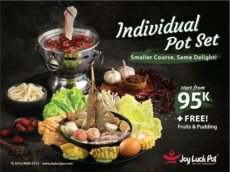 INDIVIDUAL POT SET - SMALLER COURSE, SAME DELIGHT! image