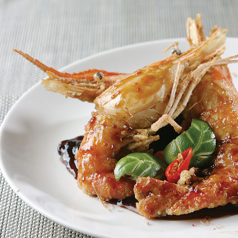 JUMBO PRAWN - FRIED WITH CHEF'S SPECIAL SAUCE
