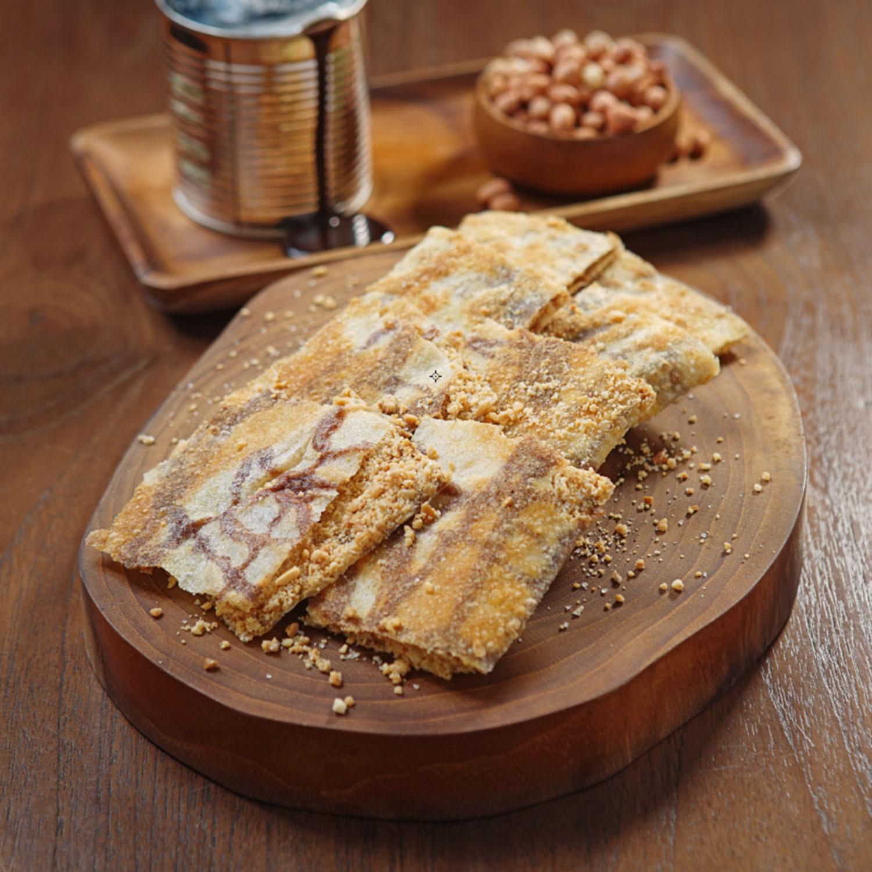 ROTI CANAI TISSUE WITH CHOCOLATE & PEANUT