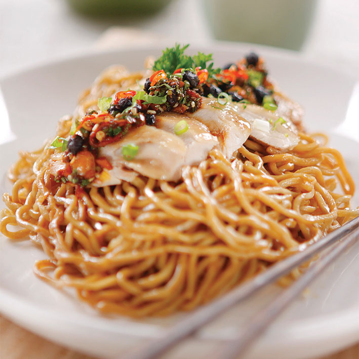 SHECHUAN CHICKEN NOODLE